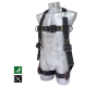 Harness against falls outside Kevlar® band Nomex® dielectric