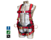 Padded positioning harness