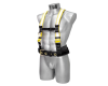 Reflective band mining safety belt