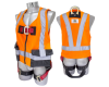 BICOLOR COMPLETE BODY HARNESSES WITH INTEGRATED VEST