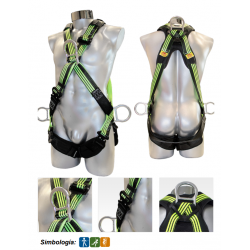 Cross-style safety harness 1