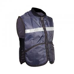 Blue Vest with Reflejante for Cold Rooms 20°c 1