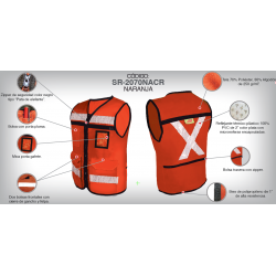 Closed Polyester Rescue Vest 1